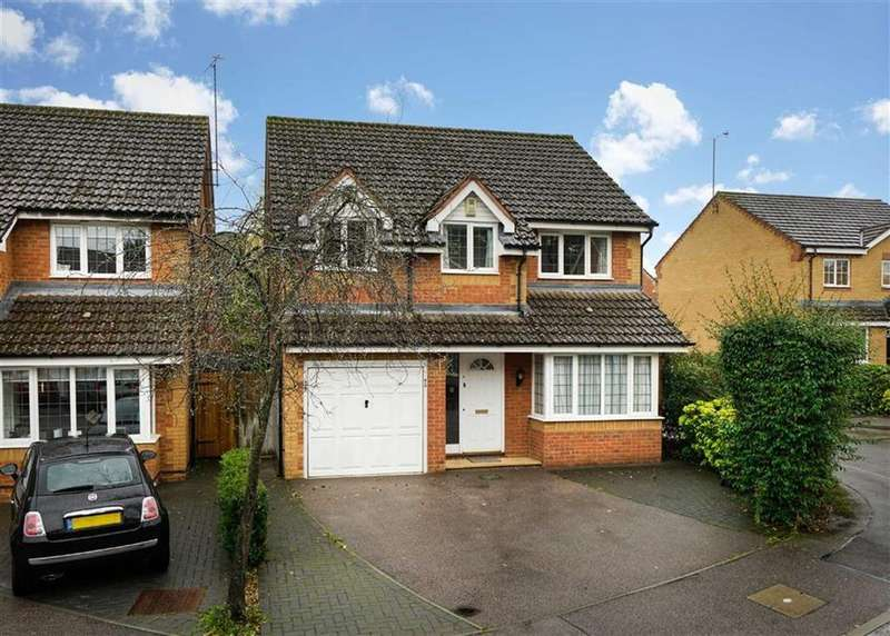 4 Bedrooms Detached House for sale in Wynches Farm Drive, St Albans, Hertfordshire
