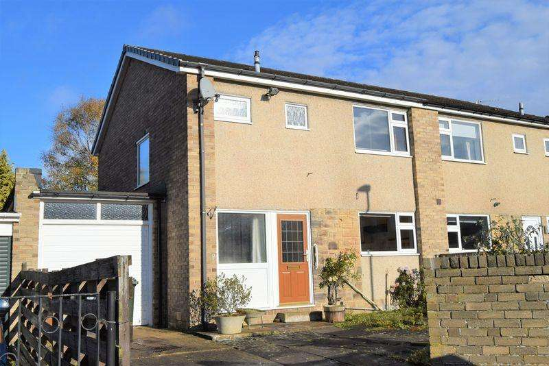 3 Bedrooms Semi Detached House for sale in Carham Close, Corbridge