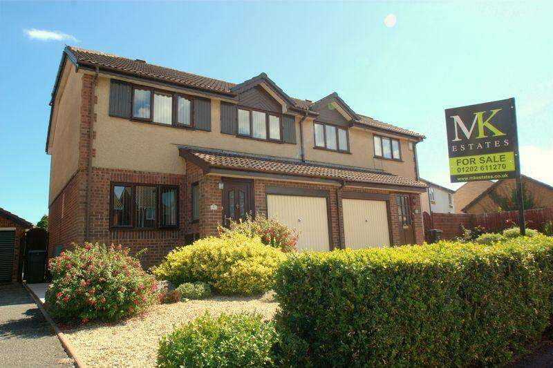 3 Bedrooms Semi Detached House for sale in Walkwood Avenue, Bournemouth