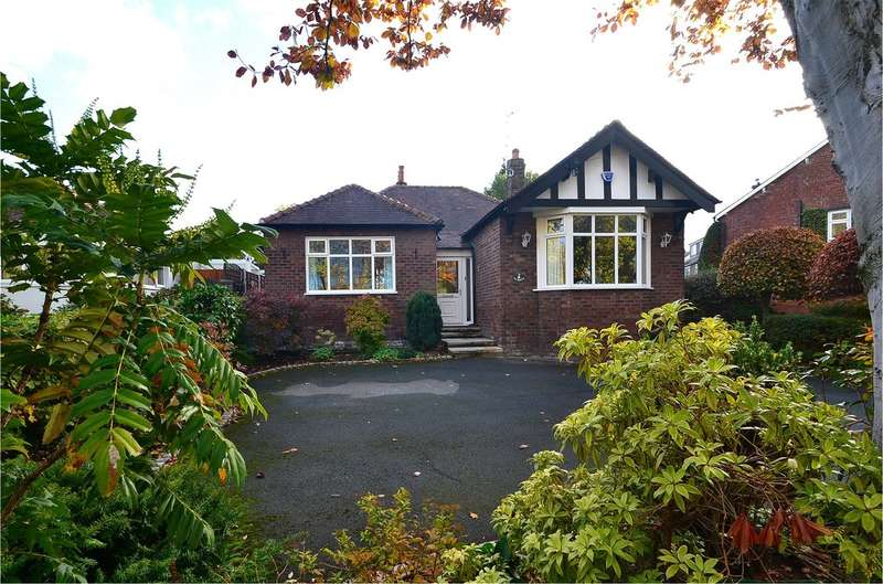 3 Bedrooms Detached Bungalow for sale in Offerton Road, Hazel Grove, Stockport SK7 4NJ