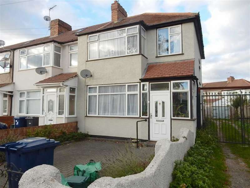 4 Bedrooms End Of Terrace House for sale in St Josephs Drive, Southall, Middlesex