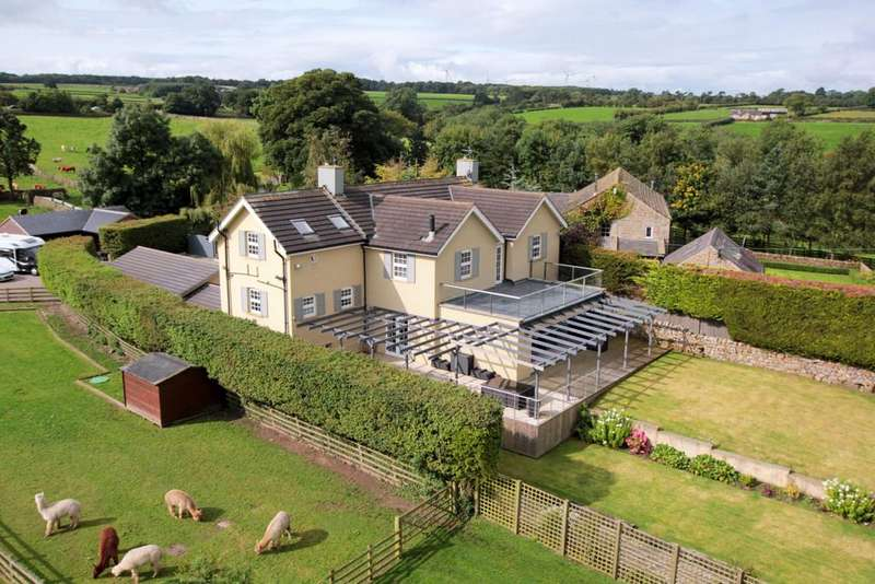 5 Bedrooms Detached House for sale in Skipton Road, Hampsthwaite, Harrogate