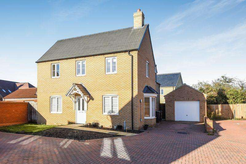 4 Bedrooms Detached House for sale in Thillans, Cranfield
