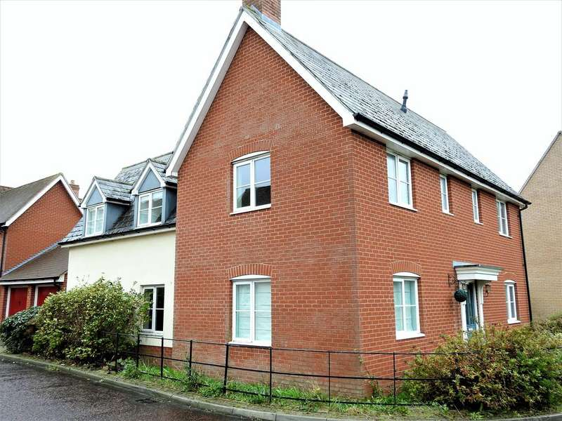 4 Bedrooms Detached House for sale in Helen Ewing Place, Colchester,