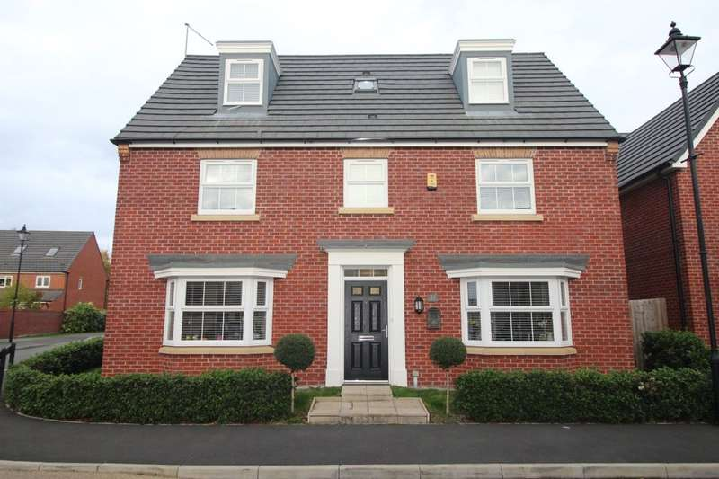 5 Bedrooms Detached House for sale in Maisemore Fields, Widnes, WA8