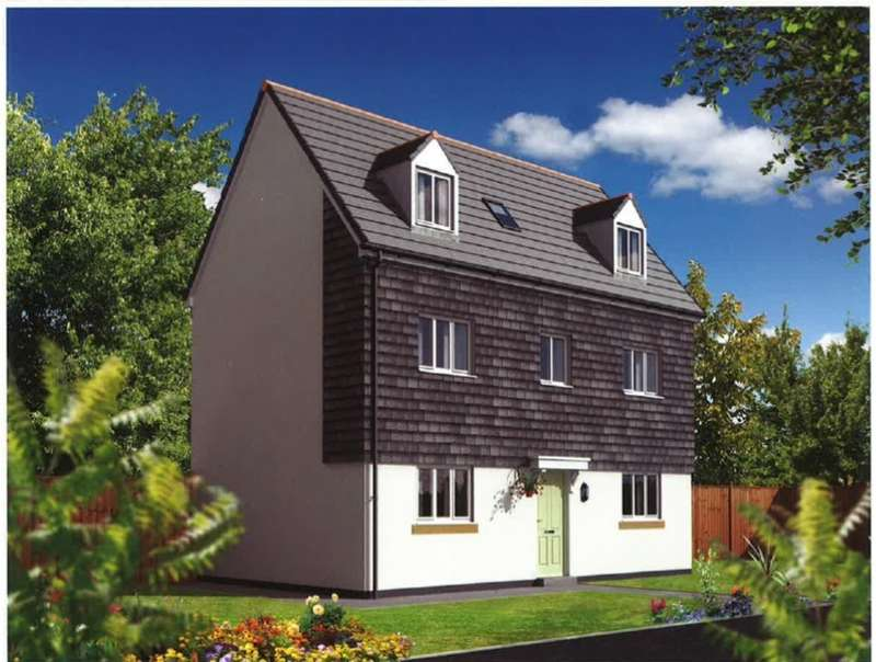 4 Bedrooms Detached House for sale in Taw View Development, Bickington, Barnstaple