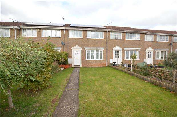3 Bedrooms Terraced House for sale in Chargrove, Yate, BRISTOL, BS37 4LG