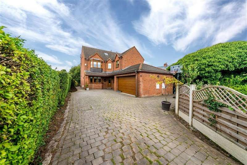 5 Bedrooms Detached House for sale in Back Lane West, Royston, Barnsley, S71