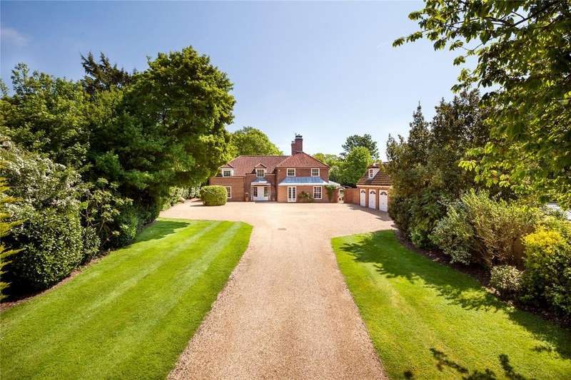 5 Bedrooms Detached House for sale in Hill House, Cambridge Road, Quendon, Essex, CB11