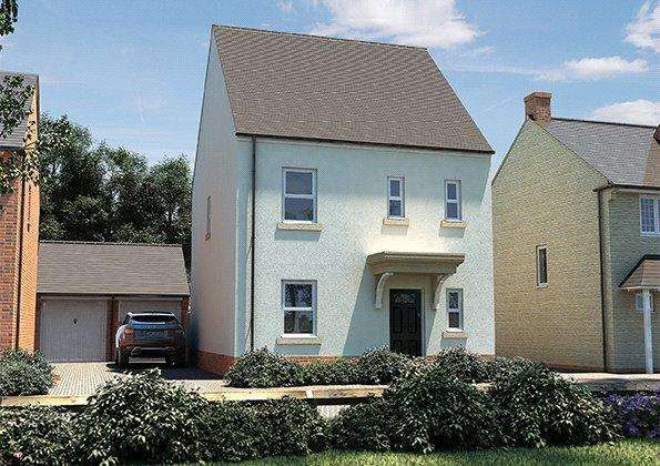3 Bedrooms Detached House for sale in The Dart, Seabrook Orchards, Off Topsham Road, Exeter, EX2