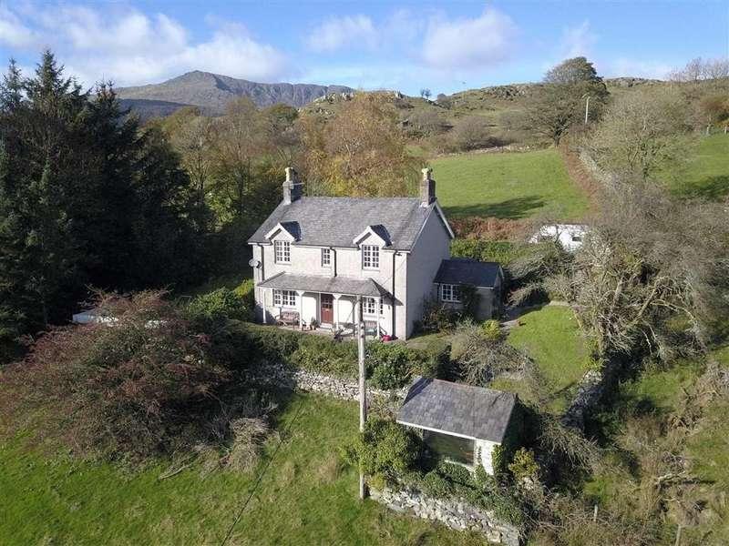 3 Bedrooms Detached House for sale in Lluest, Dolwyddelan