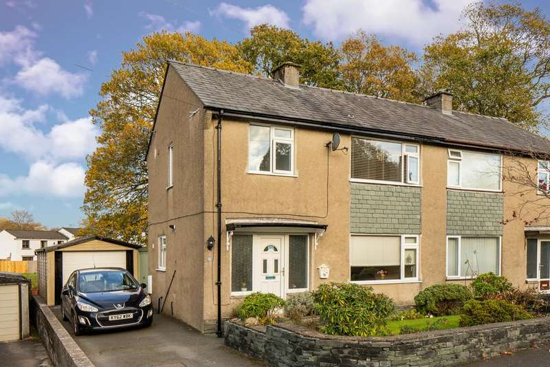 3 Bedrooms Semi Detached House for sale in 21 Fairfield Road, Windermere, Cumbria, LA23 2DR