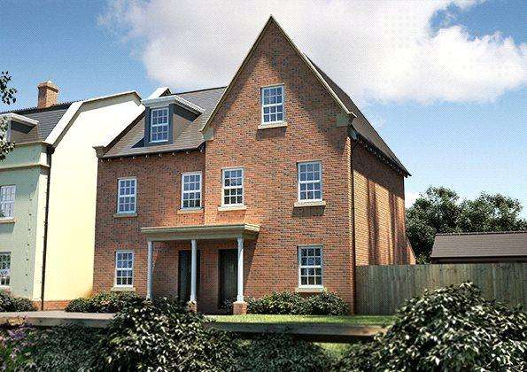 3 Bedrooms End Of Terrace House for sale in Seabrook Orchards, Off Topsham Road, Exeter, EX2