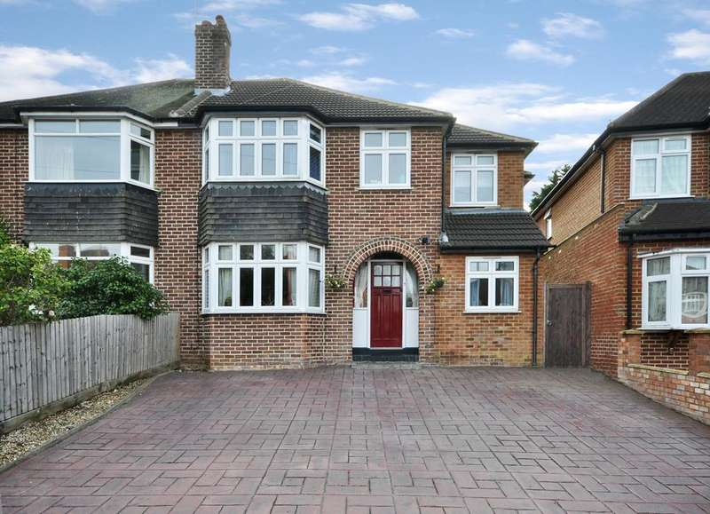 4 Bedrooms Semi Detached House for sale in Chiltern Crescent, Earley, Reading, RG6 1AN