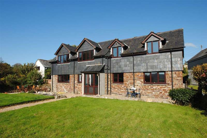 3 Bedrooms Detached House for sale in Tremarvy Barn, Congdons Shop