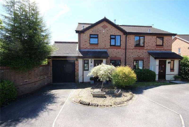 3 Bedrooms Semi Detached House for sale in Ellicks Close, Bradley Stoke, Bristol, BS32