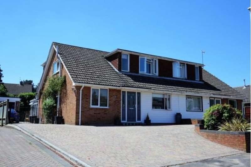 4 Bedrooms Semi Detached House for sale in Windmill Avenue, Wokingham