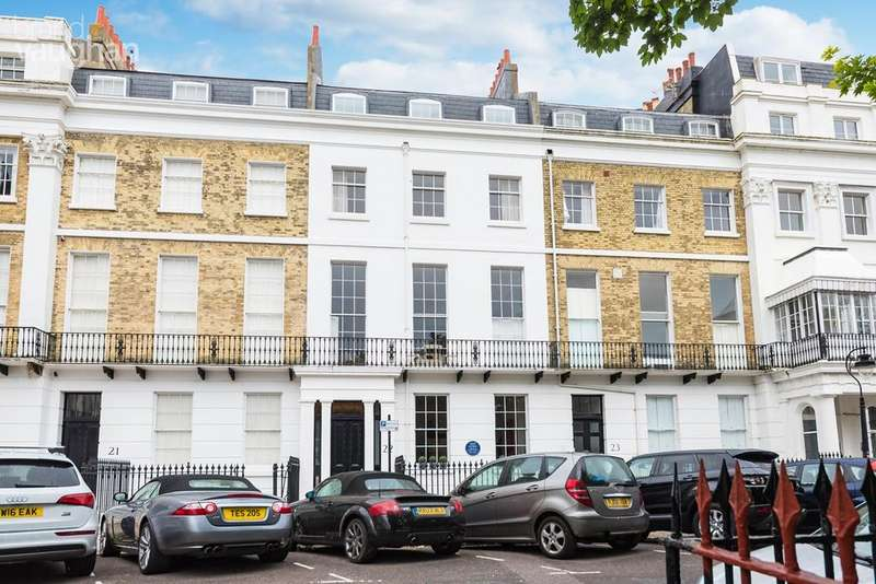 3 Bedrooms Apartment Flat for sale in Sussex Square, Brighton, BN2