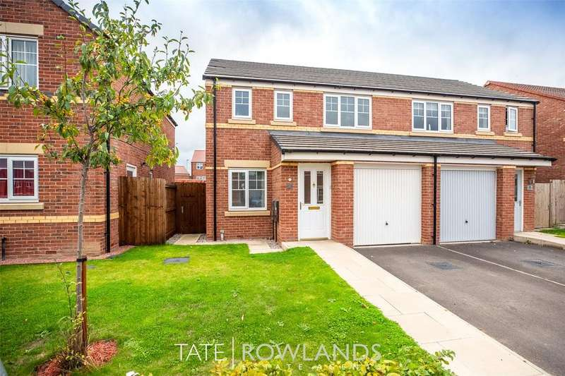 3 Bedrooms Semi Detached House for sale in Llys Collen, Oakenholt, Flint, Flintshire, CH6