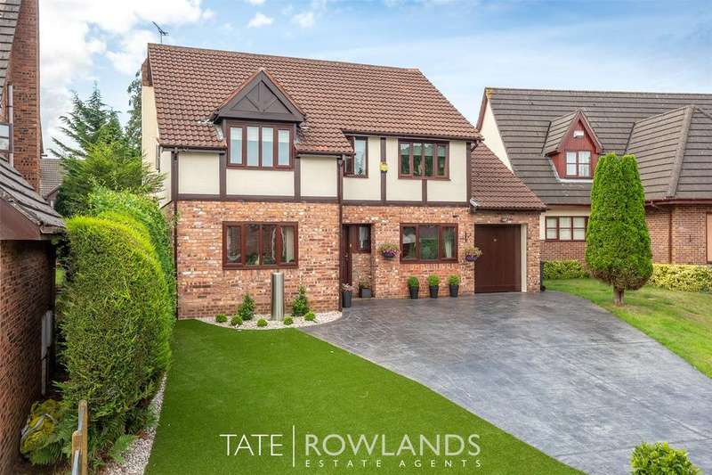4 Bedrooms Detached House for sale in St Andrews Close, Hawarden, Flintshire, CH5