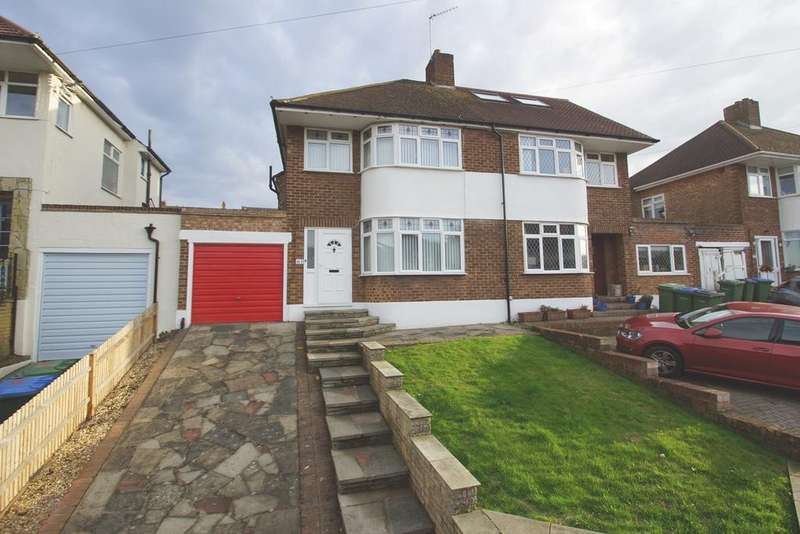 3 Bedrooms Semi Detached House for sale in Brownspring Drive, London, SE9