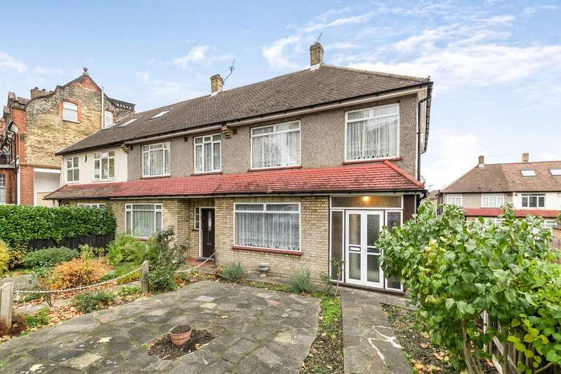 3 Bedrooms End Of Terrace House for sale in Palace Road London SW2