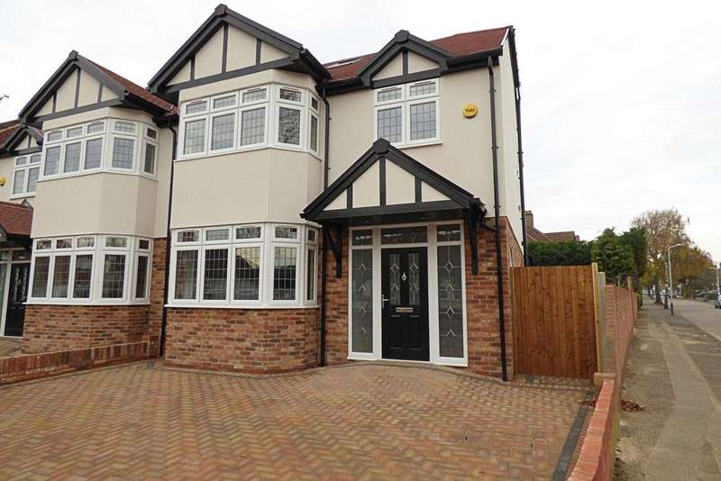 5 Bedrooms Semi Detached House for sale in Cranston Park Avenue, Upminster RM14