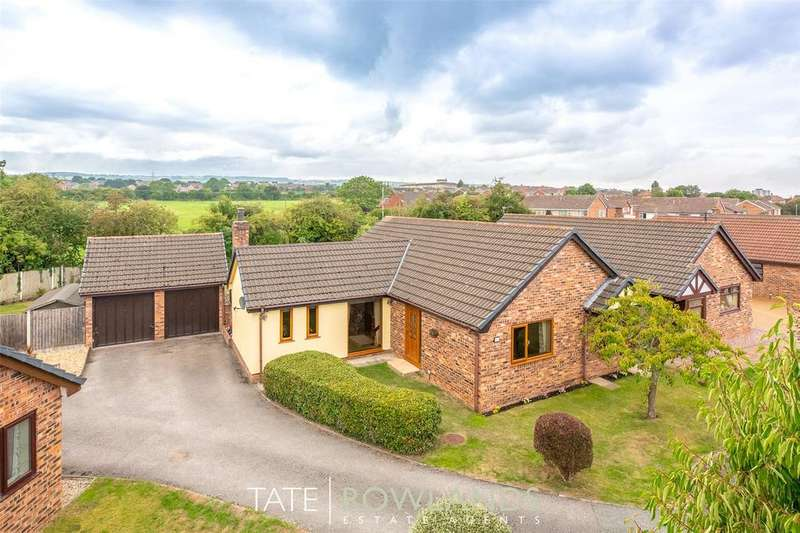 3 Bedrooms Detached Bungalow for sale in Atis Cross, Flint, Flintshire, CH6