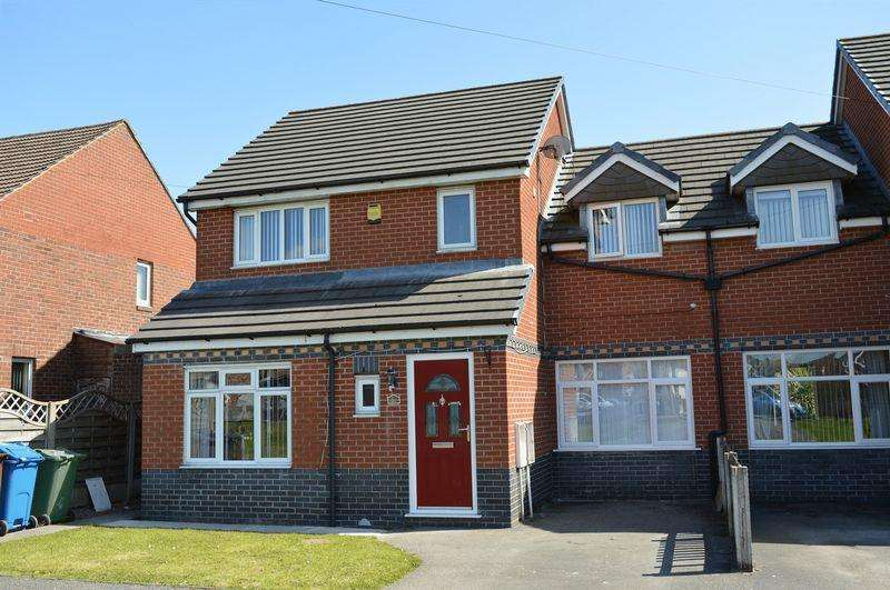 3 Bedrooms Semi Detached House for sale in Ash Grove, Golborne, WA3 3LQ