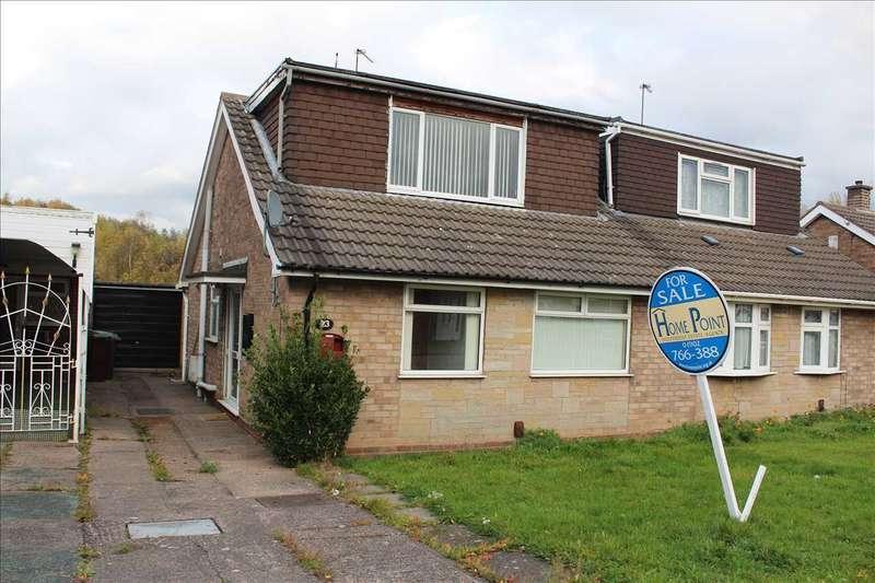 4 Bedrooms Bungalow for sale in Friesland Drive, Wolverhampton