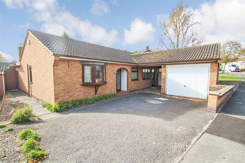 3 Bedrooms Detached Bungalow for sale in Garland, Rothley, Leicester