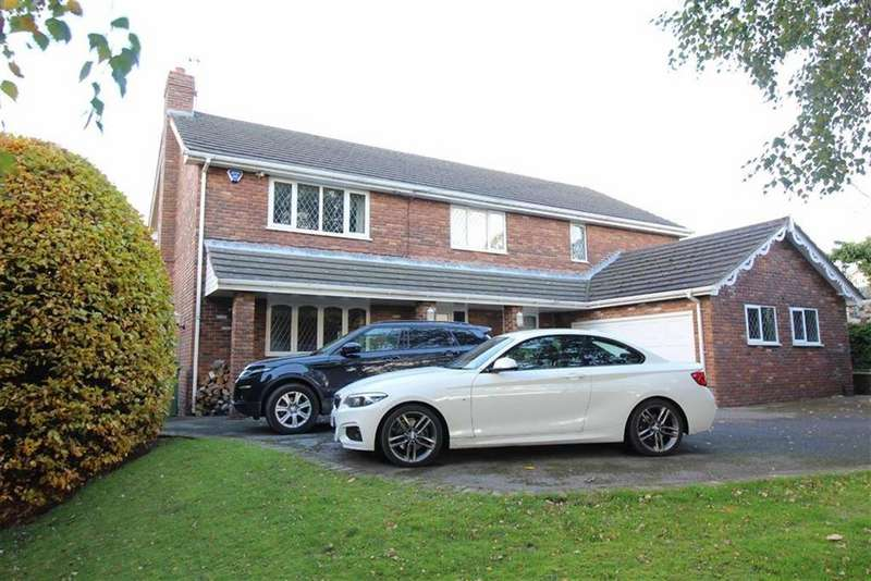 5 Bedrooms Detached House for sale in Corks Lane, Disley, Stockport, Cheshire