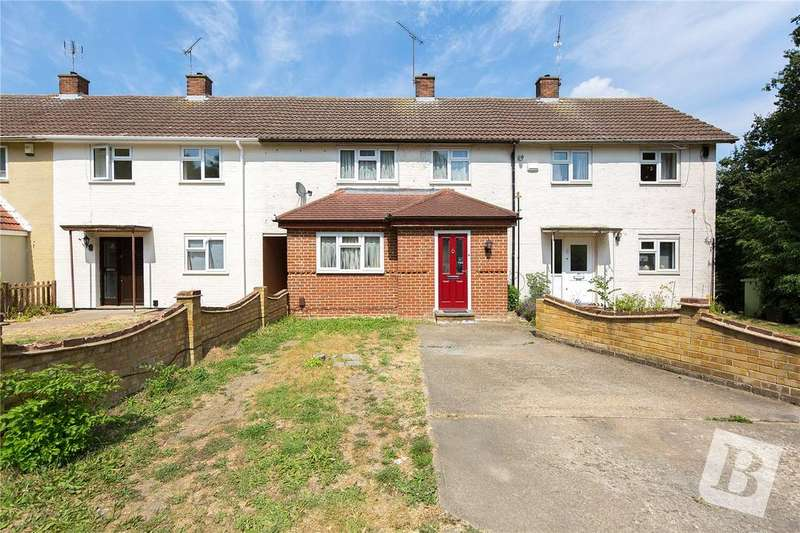 3 Bedrooms Terraced House for sale in Theydon Crescent, Basildon, Essex, SS14