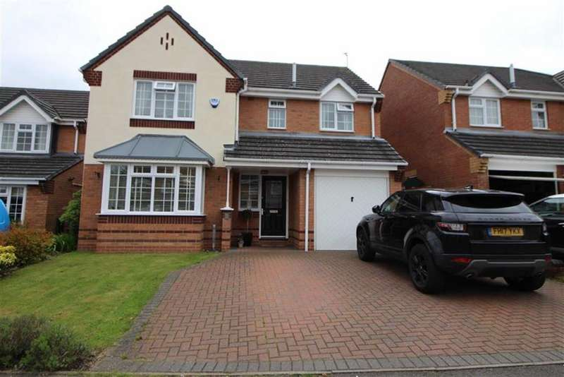 4 Bedrooms Detached House for sale in Ashdene Gardens, Belper