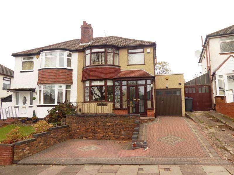 3 Bedrooms Semi Detached House for sale in Hillcrest Grove, Kingstanding, Birmingham