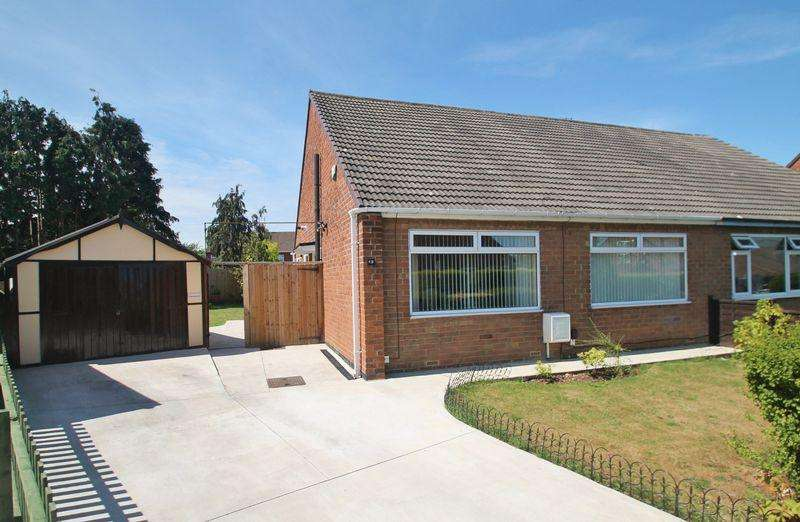 2 Bedrooms Semi Detached Bungalow for sale in Norfolk Crescent, Ormesby