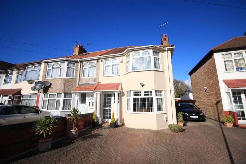 4 Bedrooms End Of Terrace House for sale in Clifford Road, Hounslow, TW4