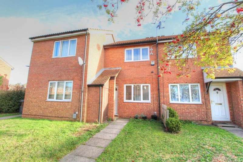 2 Bedrooms Terraced House for sale in Alburgh Close, Bedford, MK42