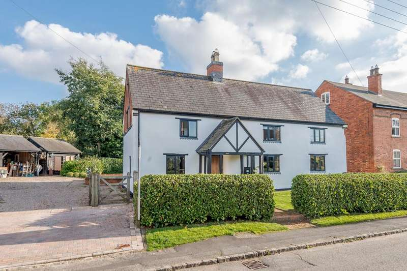 4 Bedrooms Detached House for sale in White House, Kelmarsh Road, Clipston, Market Harborough, LE16
