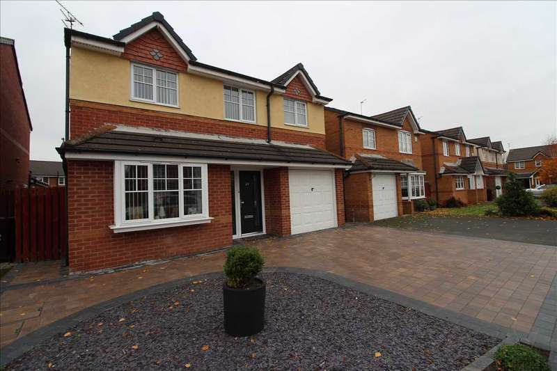 4 Bedrooms Detached House for sale in Whinberry Drive, Kirkby