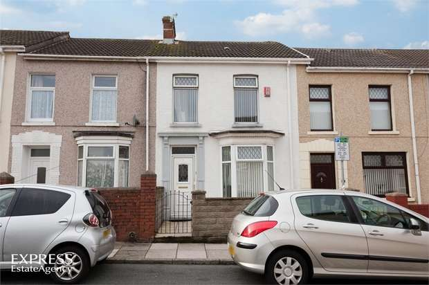 2 Bedrooms Terraced House for sale in Charles Terrace, Llanelli, Carmarthenshire