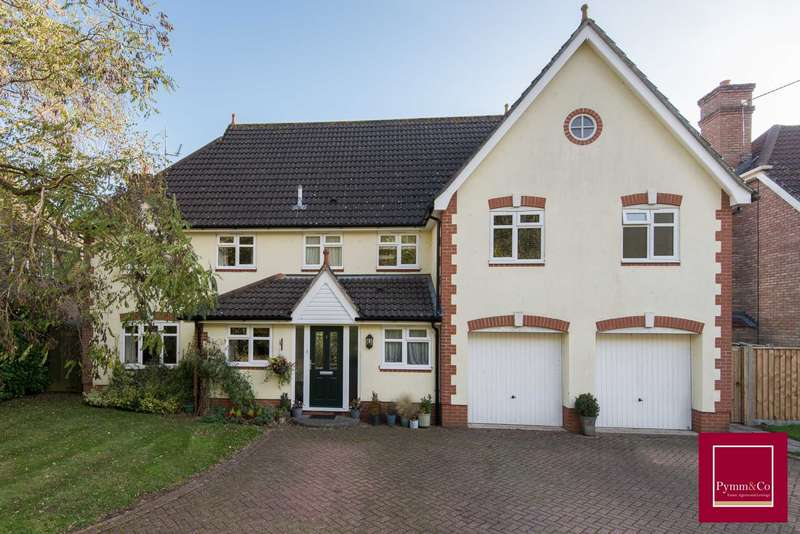 5 Bedrooms Detached House for sale in Rainsborough Rise, Dussindale, Thorpe St Andrew