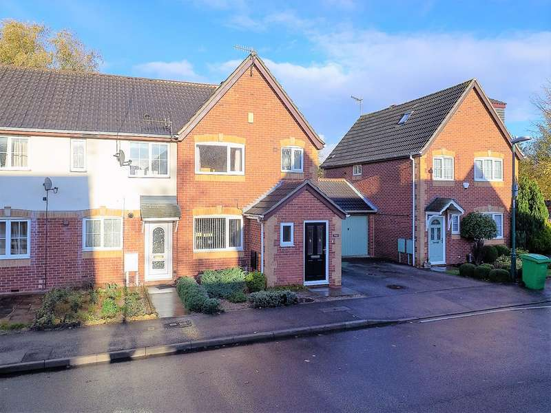 3 Bedrooms Semi Detached House for sale in Firecrest Way, Nottingham