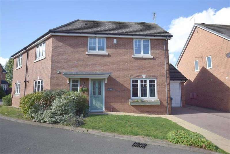 3 Bedrooms Semi Detached House for sale in Sketchley Court, Burbage, Leicetsreshire