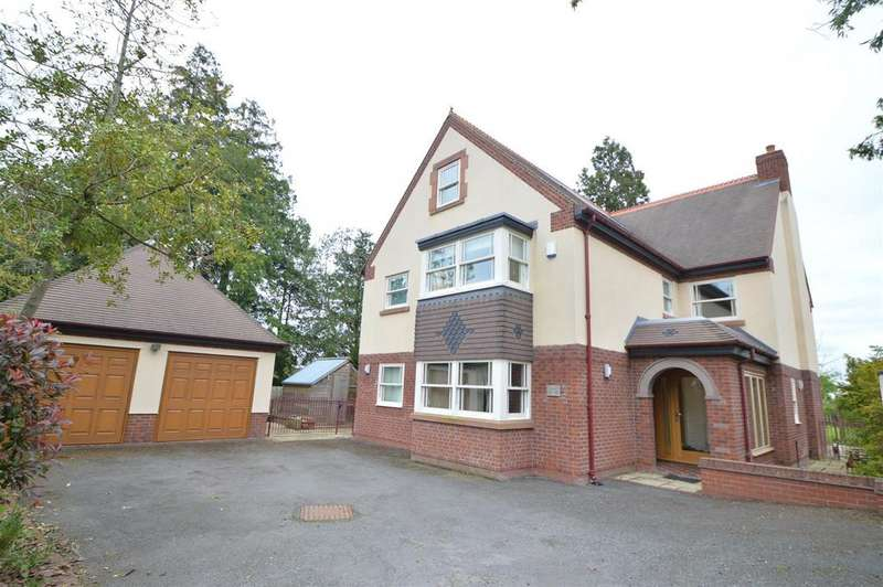 6 Bedrooms Detached House for sale in 109a Lyth Hill Road, Bayston Hill, Shrewsbury, SY3 0AT