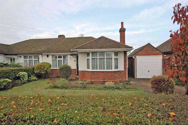 2 Bedrooms Semi Detached Bungalow for sale in Aylesbury Road, Bedford