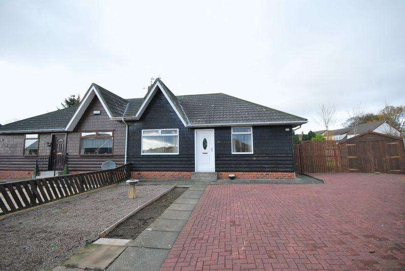 2 Bedrooms Semi Detached Bungalow for sale in 23 Mainholm Crescent, Ayr, KA8 0QT