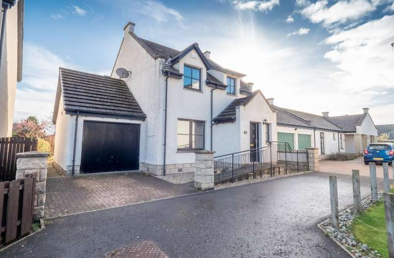 3 Bedrooms Detached House for sale in Dalgarno Park, Montrose