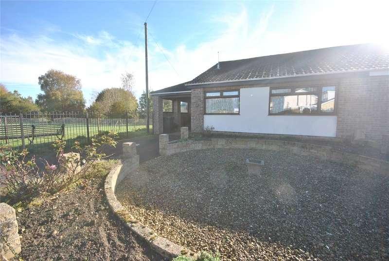 2 Bedrooms Semi Detached Bungalow for sale in Wessex Road, Stalbridge, Sturminster Newton, DT10