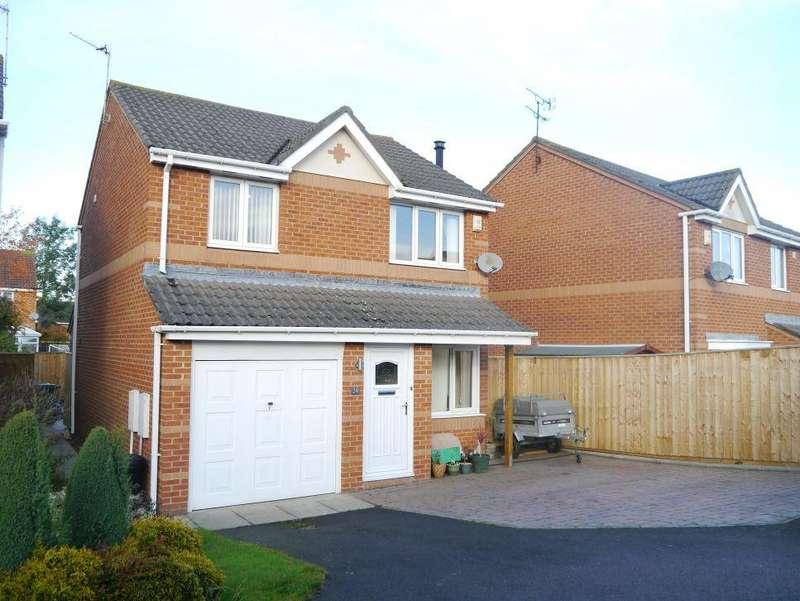 3 Bedrooms Detached House for sale in Ayton Court, Hazelmere, Bedlington, Northumberland